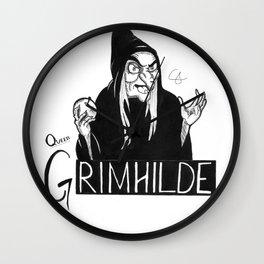 Queen Grimhilde Wall Clock