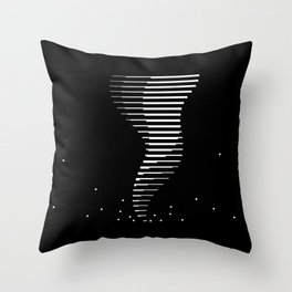 Bitnado Throw Pillow
