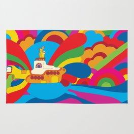 Yellow Submarine Rug