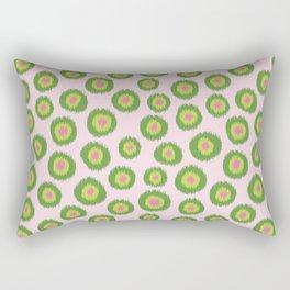 Candy is Dandy Ikat-Preppy colors Rectangular Pillow