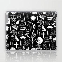 Buffy Symbology, White Laptop & iPad Skin