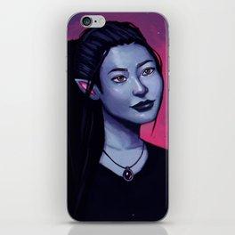 Portrit of Amara iPhone Skin