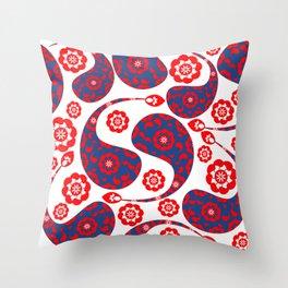 Paisley #45 Throw Pillow