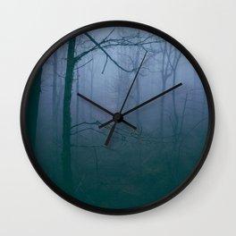 Foggy Mornings Wall Clock
