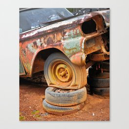 Rusted 21 Canvas Print