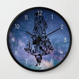 Alice in the Sky Wall Clock