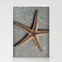 starfish Stationery Cards featuring Starfish by Nichole B.