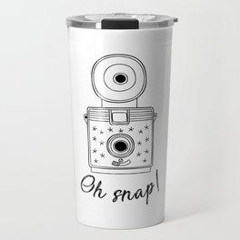 Vintage Camera Oh Snap! Travel Mug