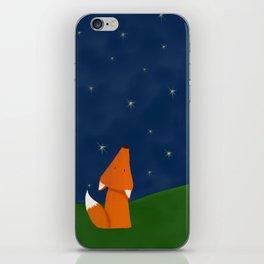 Looking up fox iPhone Skin