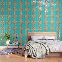 Happy tribal decor Wallpaper
