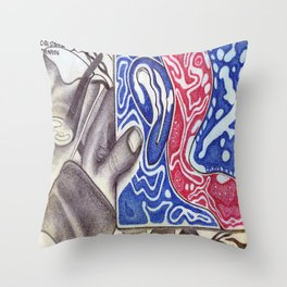 Homage to One Self Throw Pillow