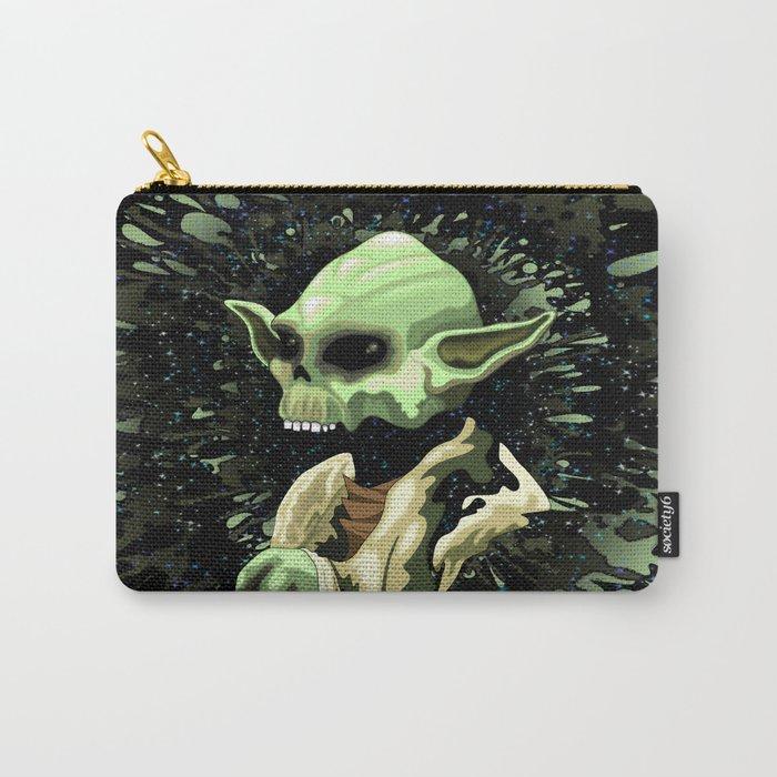 Skull Yoda Jedi Master  Carry-All Pouch