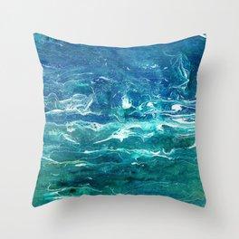 Deep Calls Deep Throw Pillow