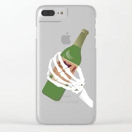 Absinthe Kills Clear iPhone Case