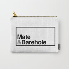 Mate & Barehole / Crate and Barrel Logo Spoof Carry-All Pouch