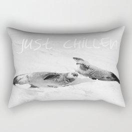Just Chillen  Rectangular Pillow
