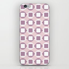 Candy Sweets Pink Champagne Pattern iPhone Skin
