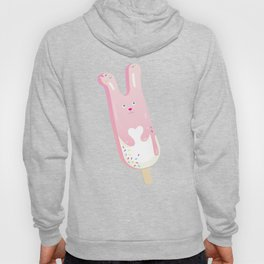 pink bunny ice lolly Hoody