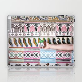 Cube against the tiles Laptop & iPad Skin
