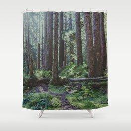 Forest Unknown Shower Curtain