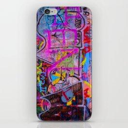 Bright Graffiti iPhone Skin