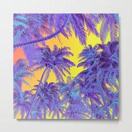 Polychrome Jungle Metal Print