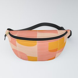 Retro Tiles 03 #society6 #pattern Fanny Pack