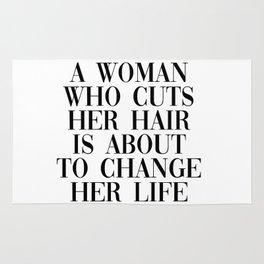 change her life Rug