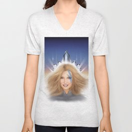 Xanadu homage cover for 10th Muse - Olivia Newton John! Unisex V-Neck