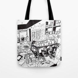 Cafe scene #1 Tote Bag