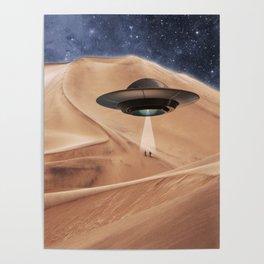 ALIEN DESERT ABDUCTION Poster