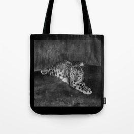 Lazy Leopard Tote Bag