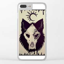 Instinct Within Clear iPhone Case