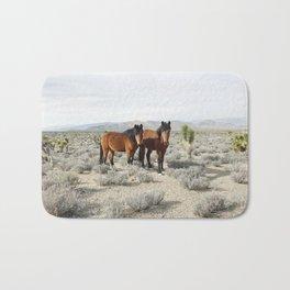 Desert Horse Pair Bath Mat