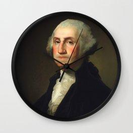 George Washington - Rembrandt Peale Wall Clock