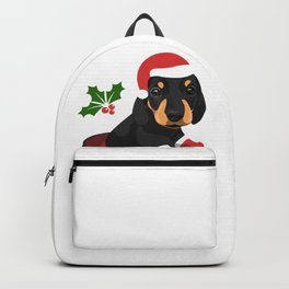 Puppy Christmas Backpack