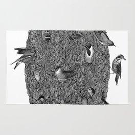 Bird Beard Rug