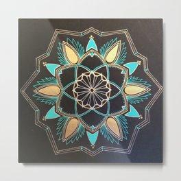 Kateri -Mandala Metal Print