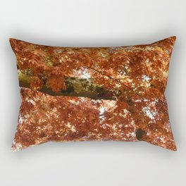 Fall around you, there are leaves. Rectangular Pillow