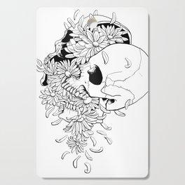 Skull (Pushing Up Daisies) Cutting Board