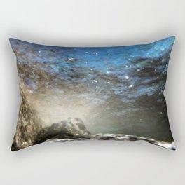Aqua 6 Rectangular Pillow