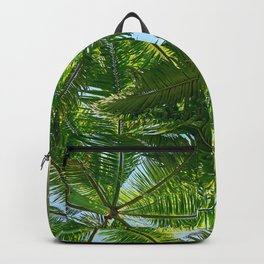Summer Under the Palm Leaves Backpack