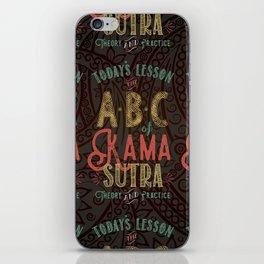 Kama Sutra Lessons iPhone Skin