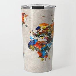 World Map 43 Travel Mug