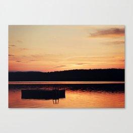 Dock at Dawn Canvas Print
