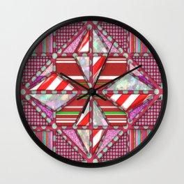 Papagayo rojo  Bolantin Wall Clock