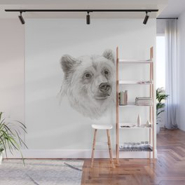 Grizzly :: A North American Brown Bear Wall Mural