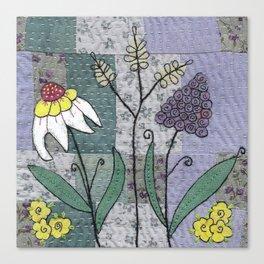 Woodland Flowers 2 Canvas Print