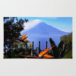 Lago Atitlan, Guatemala Rug