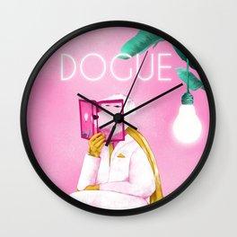 Dogue - Albert Camus Wall Clock